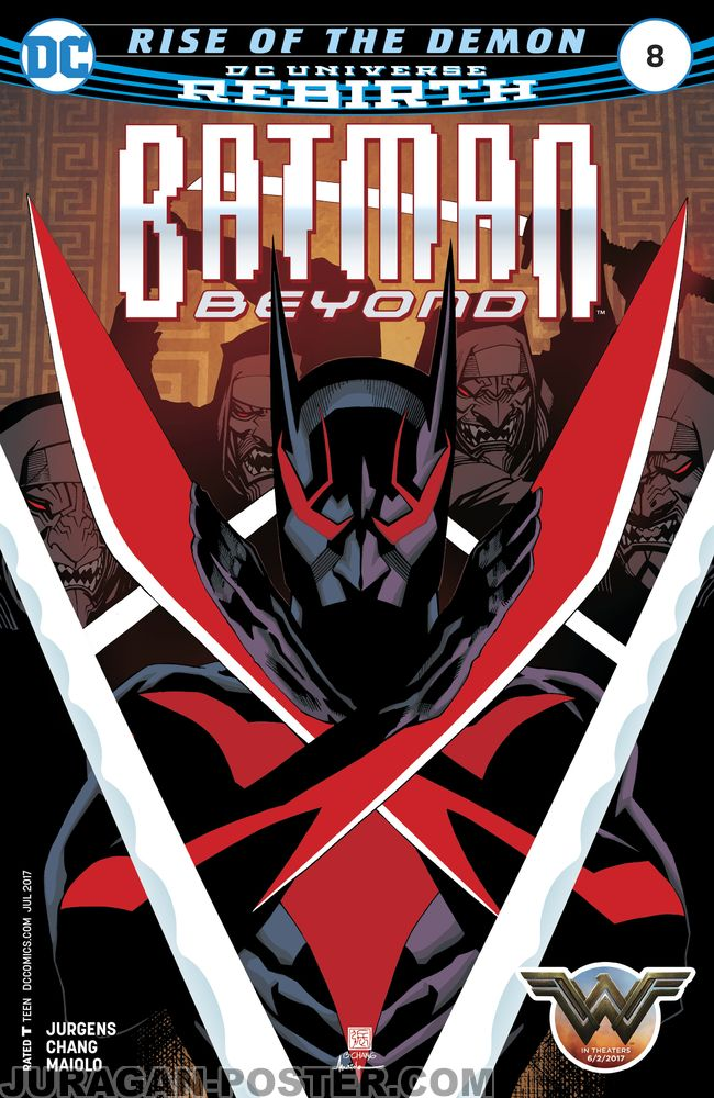 Jual poster Batman Beyond Comic Cover