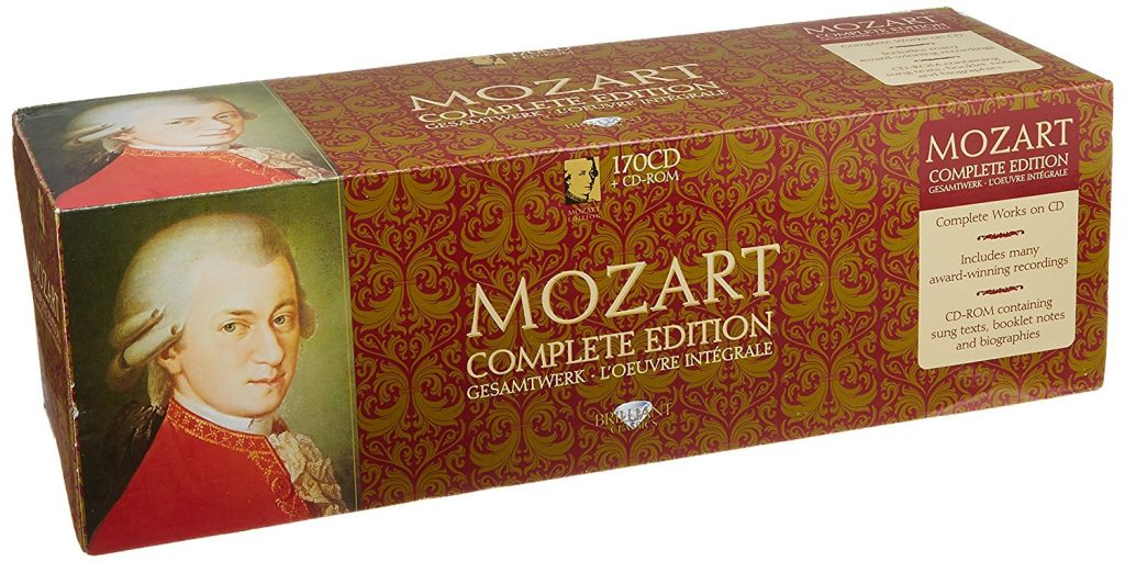 jual mp3 musik Wolfgang Amadeus Mozart The Complete Mozart Edition 1