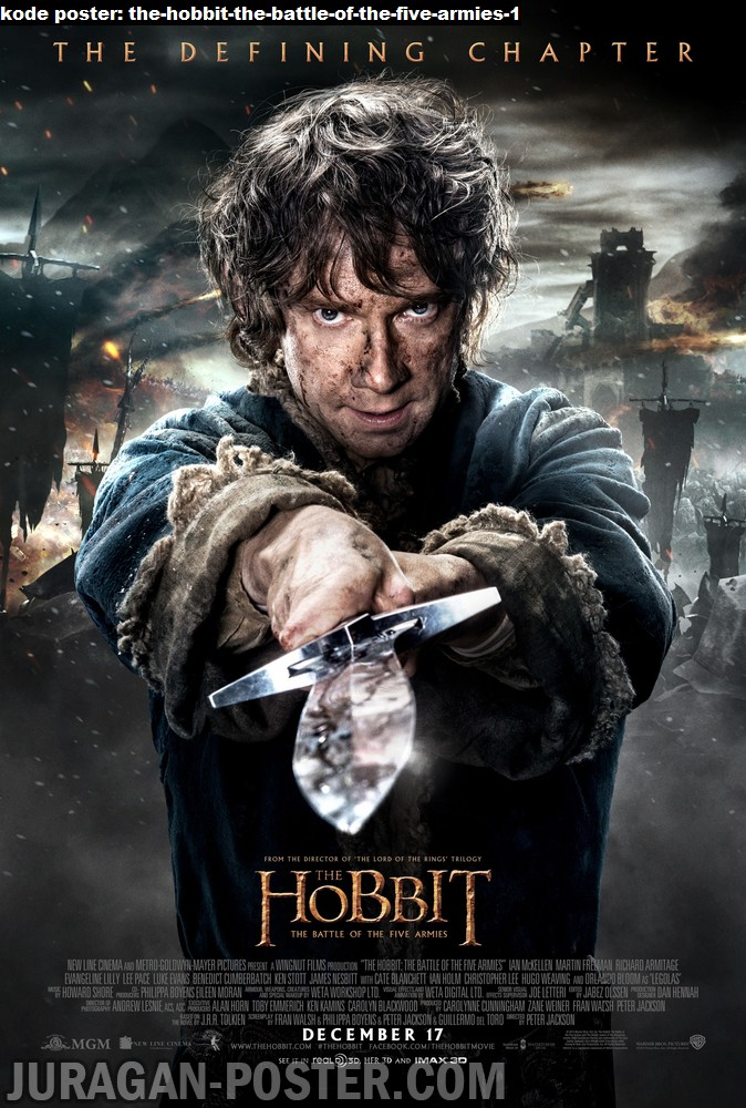 the-hobbit-the-battle-of-the-five-armies-1-movie-poster