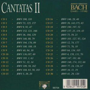 Jual Mp3 Kompilasi Musik Klasik Johann Sebastian Bach Complete Works 160 CD 5 Cantasas 2