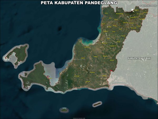 Pate kabupaten pandenglang ukuran 150×200